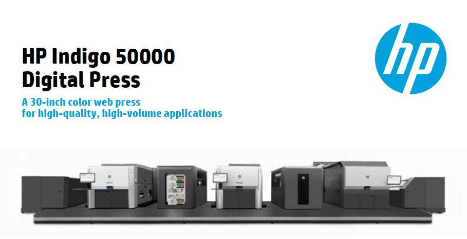 HP Indigo 50000 - druk cyfrowy